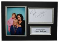 Linda Robson Signed Autograph A4 photo display Birds of a Feather AFTAL COA