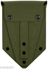 plastic tri-fold shovel cover military style olive drab rothco 2822