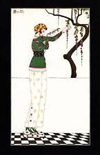 1979 VINTAGE ART DECO FASHION Imprimé C Martin Journal des dames et des modes