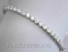 Not Enhanced White Gold SI1 Fine Diamond Bracelets