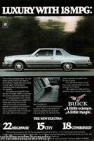 1978 BUICK Electra 2-door Vintage Classic Car Photo AD