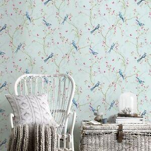 Superfresco Easy Songbird Paste The Wall Duck Egg Wallpaper (Was £17)
