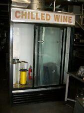 Cooler/Merchandiser, True, 2 Sliding Doors, Shelves,115V, Wide,900 Items On E Ba