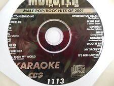 Monster Hits Karaoke CD+G vol-1113/ Usher,3 Doors Down,Nickelback,N Sync,Creed +