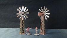 TTCombat - Wild West Scenics - WWS037 - Windmills, Great for Malifaux