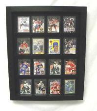 BASEBALL CARD  DISPLAY Baseball/ Football Hockey basketball 20 Card display Case