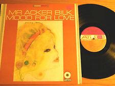 "STEREO 1960's LP - MR ACKER BILK - ""MOOD FOR LOVE"" ATCO SD 33-197"