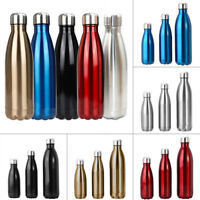 350ML-1000ML Vacuum Flasks Insulated Drink Cup Water Bottle For Camping Hiking
