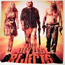 Devils Rejects Cushion Cover Velvet Pillow HorrorCult Movie Rob Zombie Film