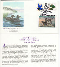 SSS: Fleetwood US FDC  1996  $15 Federal Duck  Surf Scoter  Sc #RW63