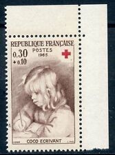 STAMP / TIMBRE FRANCE NEUF  N° 1467a ** CROIX ROUGE / RENOIR / ISSUS DE CARNET