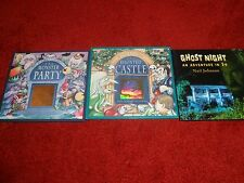 Bundle of two Spooky Stories and Ghost Night an Adventure in 3-D, see details