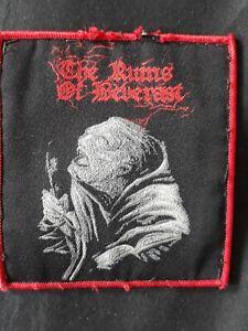 The Ruins Of Beverast Patch Black Metal Deathspell Omega Van Records Urfaust