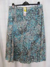Cotton Blend Floral Casual Flippy, Full Skirts for Women