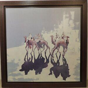 MESSONNIER Signed Print of A Camel Caravan- TRIBU - TOUAREG II- Thames Hospice