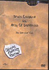 Evil Dead Army of Darkness (DVD, 2001, Director's Cut: Bootleg Edition)