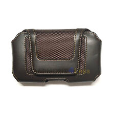 Horizontal Pouch Phone Case For Samsung Galaxy S3 S4 BB Z10 iPhone 5S 5C - Brown