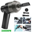 33000RPM Cordless Electric Air Duster Keyboard Car Cleaning Blower Rechargeable