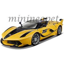 BBURAGO 18-16010 FERRARI FXX K #15 1/18 DIECAST MODEL CAR YELLOW