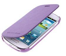 Schutzhülle f Samsung Galaxy S3 mini Cover Flip Slim Case Tasche lila violett