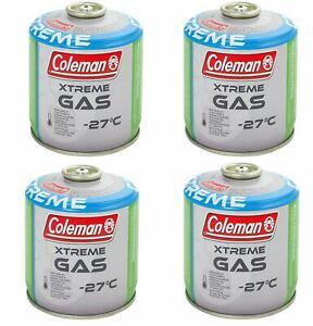 Coleman Extreme Gas C300 x4 Canisters Camping Picnic Cooking Outdoor BBQ Beach