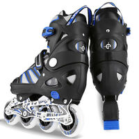 Pro Inline Skate Rollerblade Roller Blades Boots PU Wheel Size S~L for Adult