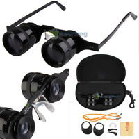 Portable New 10x34 Optical Eyeglasses Telescope Fishing Binoculars Night Vision