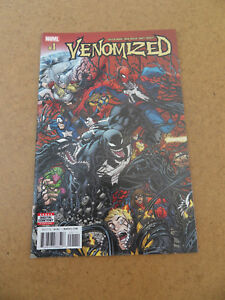 Venomized 1 . Super Hot !! . Marvel 2018 . VF / NM