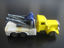Soma Super Wheels Peterbilt Tow Truck Wrecker***Made In Hong Kong***