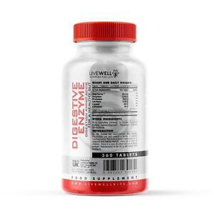Digestive Enzymes Probiotic Tablets | (Digezyme) Digestion Amino Acids Gut