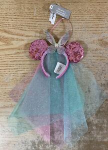 Disney 2019 Tinker Bell Bow Headband Christmas Ornament NEW