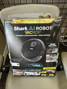 SHARK AI WIFI ROBOT VACMOP | R200WD | BLACK Brand New Wow!