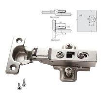 GTV SOFT CLOSE 26mm Half Overlay KITCHEN CABINET DOOR HINGE PLATE & SCREWS