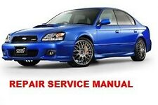SUBARU LEGACY 1999 00 01 02 2003  FACTORY SERVICE REPAIR MANUAL + WIRING DIAGRAM