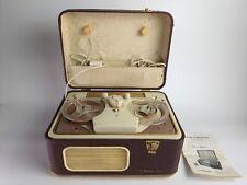 Magnétophone à bande portatif Radiola vintage