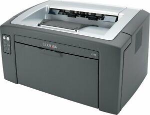 Lexmark E120n 120 Mono A4 Printer, Low Count, Under 25K, NO TONER, WARRANTY!