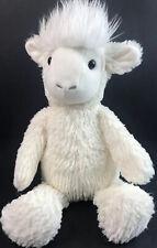"Manhattan Toys Lamb Lovey Plush Stuffed Animal Sheep Goat Cream 14"" P8"