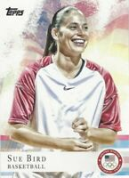 SUE BIRD - TOPPS 2012 OLYMPIC - CARD #20 - UCONN - SEATTLE STORM - USA