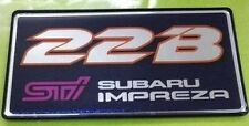 SUBARU IMPREZA STI 22B EJ22 BADGE EMBLEM ST99800ST600 WE HAVE HARD 2 FIND PARTS!