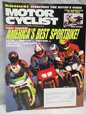 Vintage Motor Cyclist Motorcyclist Magazine July 1994 Bmw R1100Rs Motorcycle
