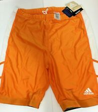 NEW adidas - Men's ORANGE Clima-lite Running Tights Shorts 2XL