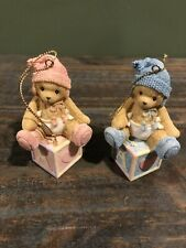 Cherished Teddies Baby's First Christmas Boy and Girl