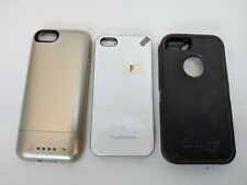 Cell Phone Case AS-IS Used Mixed Lot Pure Gear, Mophie Juice Pack, Otterbox