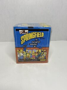 Sealed Box Of 2003 The Simpsons Springfield Collection IV U.S.A. Panini Stickers