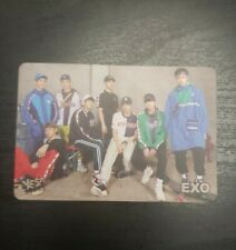 EXO x MLB Yes! Magazine Official Photocard (Unofficial) NY with lyrics