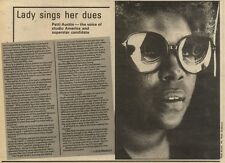 3/10/81PGN13 ARTICLE WITH PICTURE: PATTI AUSTIN THE VOICE OF STUDIO AMERICA