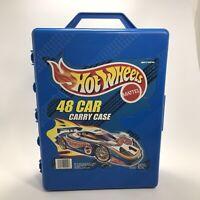 1998 Mattel Hot Wheels Car Carry Case TARA  #20020,  48 Car Case, Made in USA
