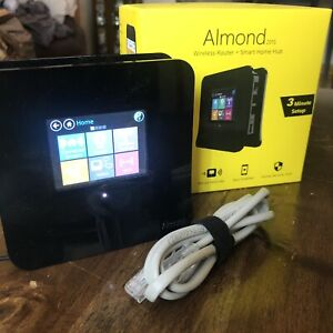 Securifi Almond 2015 Wireless Router/Extender + Smart Home Hub Tested Working