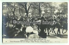 r0567 - Funeral of King Edward VII - May 20th 1910 - postcard