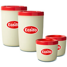 EasiYo Extra Two Jars - New Shape, Two Lunchtakers